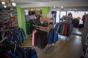 Unser Ladensgeschäft im hinteren Bereich